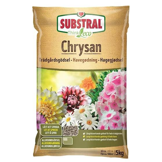 Substral Chrysan Trädgårdsgödsel 5 kg