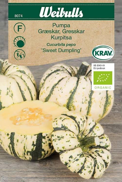 Weibulls Kurpitsa Sweet Dumpling KRAV