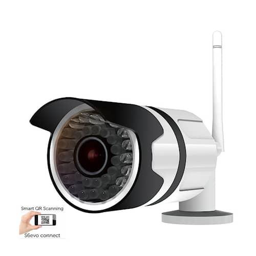 Sikkerthjem Utomhus HD WIFI Smartcam S6evo