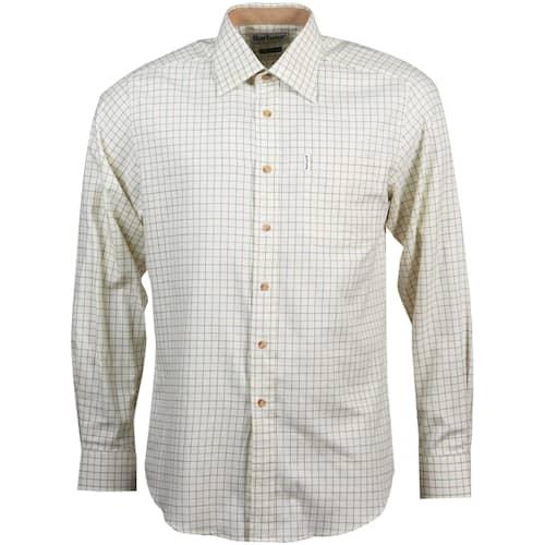 Barbour Field Tattersall Cc Shirt Green/Brown