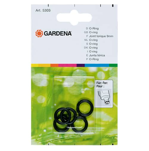 Gardena 5 kpl O-renkaita
