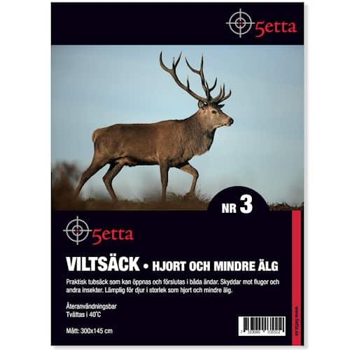 5etta Viltsäck 3 Hjort & mindre Älg 300*145cm