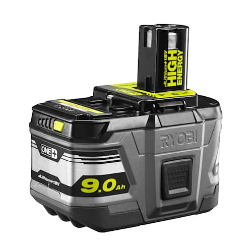 Ryobi RB18L90 18V 9,0Ah High Energy Lithium+Batteri