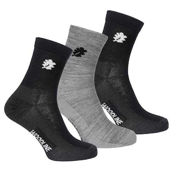 Woodline Socka Liner Merinoull 3-pack, 35-39
