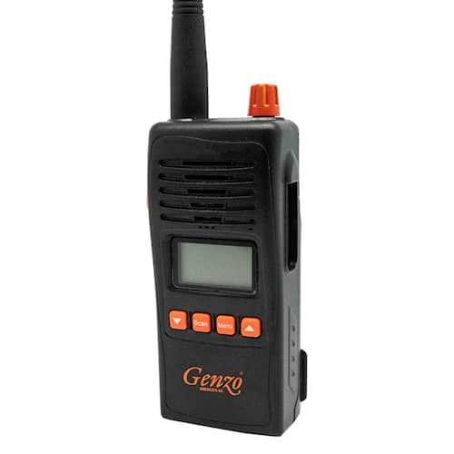 Genzo Royal 155 MHz  XTM Komradio Svart/Orange