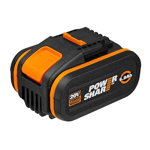 Worx Batteri 20V 6.0Ah med indikator