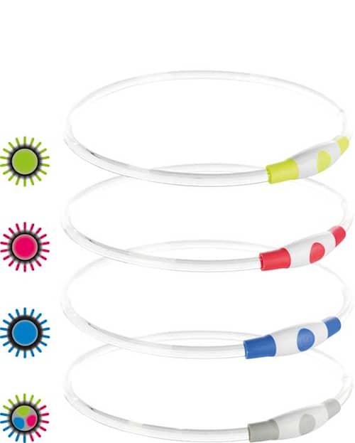 Trixie Flash Light Ring USB Monivärinen