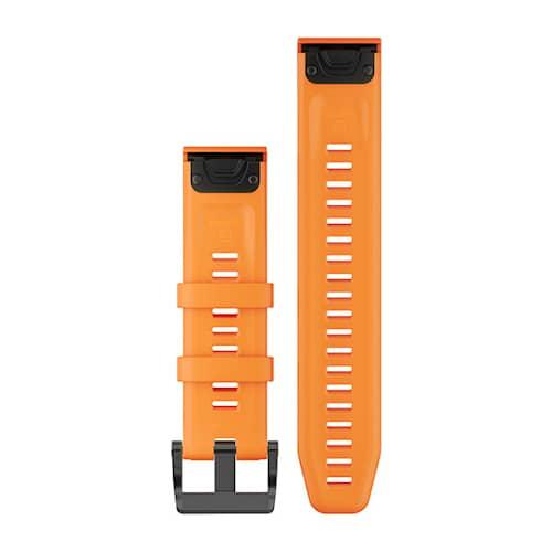 Garmin Quickfit 22 Kellon ranneke oranssi