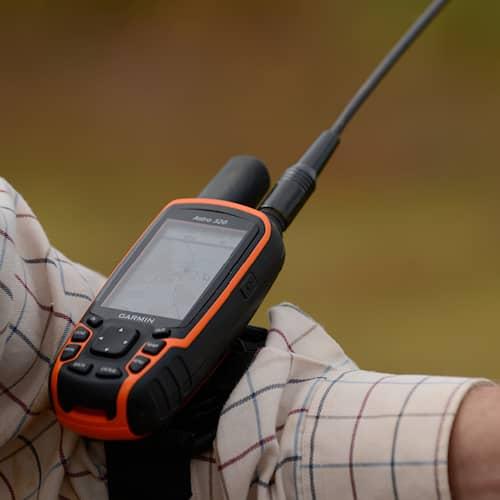Asio GPS-pidike malleihin Garmin Alpha & Astro 320