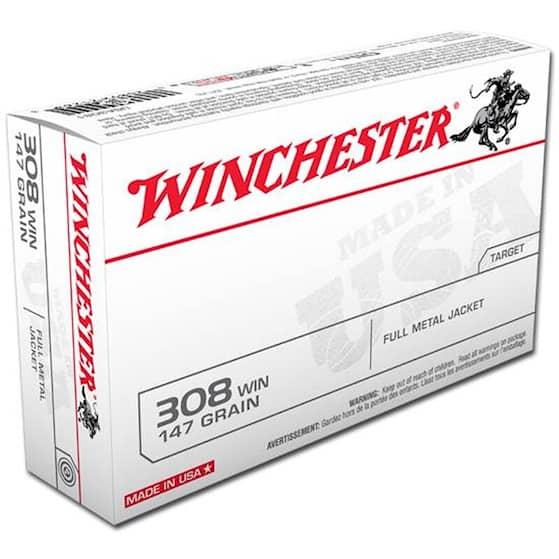 Winchester 308  Övning