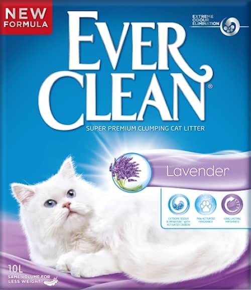 Ever Clean Fresh Lavendar 10l Kattsand