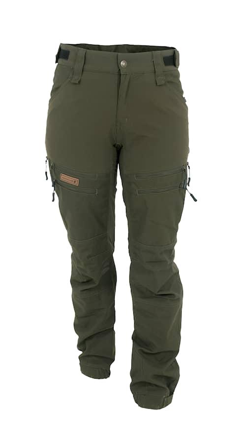 Woodline Granvik Naisten housut vihreä/vihreä