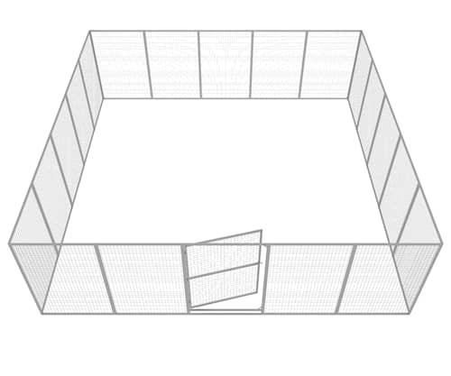 Komplett Hundgård 36 m2