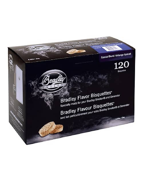 Bradley savustusbriketit Special Blend 120 kpl