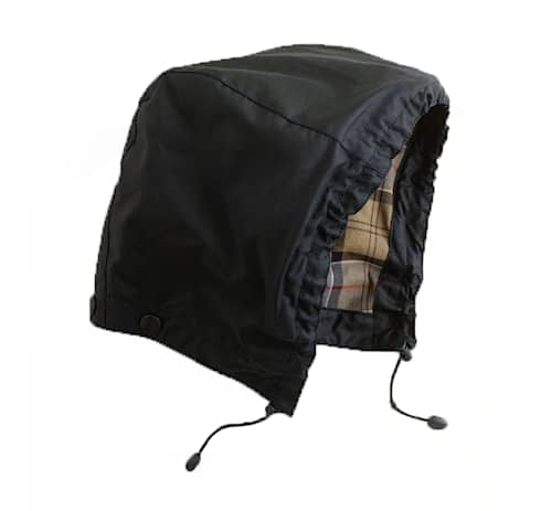 Barbour Waxed Cotton Hood Navy