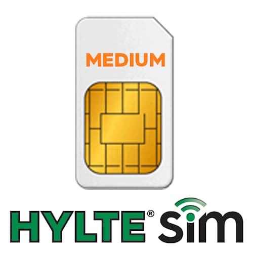 HylteSIM Finland 12kk Medium-paketti