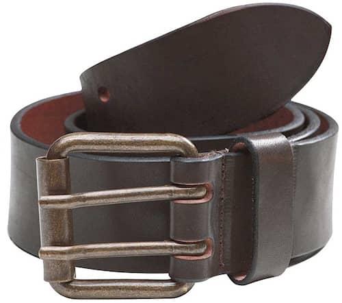 Läderbälte Brun 105cm